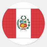 Bandera nacional de Perú Pegatina