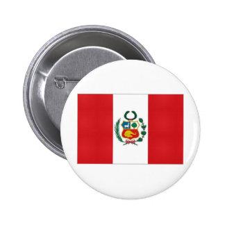 Bandera nacional de Perú Pins