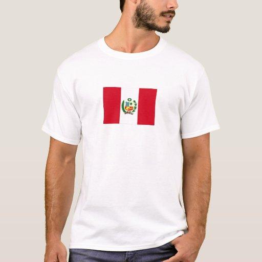 Bandera nacional de Perú Playera