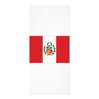 Bandera nacional de Perú Tarjetas Publicitarias Personalizadas