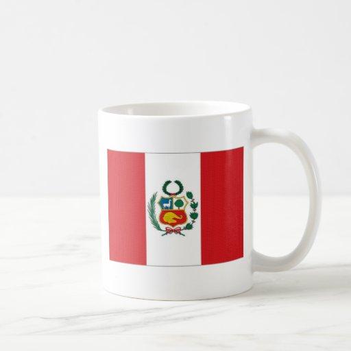 Bandera nacional de Perú Taza