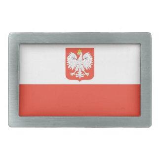 Bandera nacional de Polonia Hebilla De Cinturon