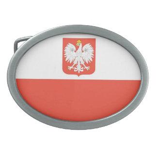 Bandera nacional de Polonia Hebillas Cinturón