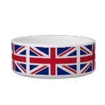 Bandera nacional de Reino Unido Bol Para Gato