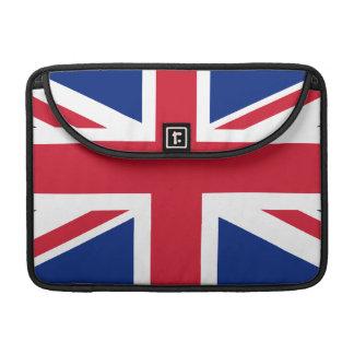 Bandera nacional de Reino Unido Funda Para Macbook Pro