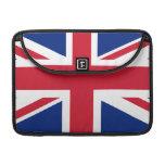 Bandera nacional de Reino Unido Fundas Para Macbook Pro