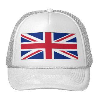 Bandera nacional de Reino Unido Gorros Bordados