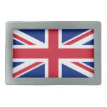 Bandera nacional de Reino Unido Hebilla Cinturon Rectangular