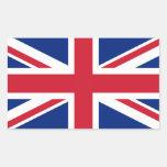 Bandera nacional de Reino Unido Rectangular Altavoces