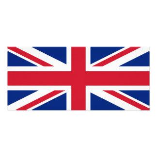 Bandera nacional de Reino Unido Tarjeta Publicitaria Personalizada