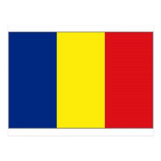 Bandera nacional de República eo Tchad Postales