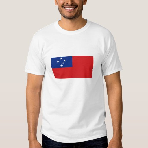 Bandera nacional de Samoa Remeras