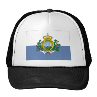 Bandera nacional de San Marino Gorro De Camionero