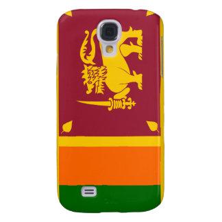 Bandera nacional de Sri Lanka Funda Para Galaxy S4