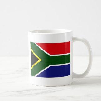 Bandera nacional de Suráfrica Taza De Café