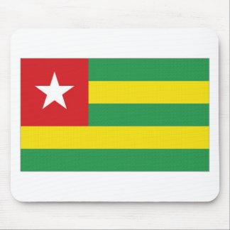 Bandera nacional de Togo Tapete De Raton