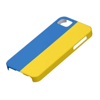 Bandera nacional de Ucrania iPhone 5 Case-Mate Funda