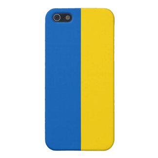 Bandera nacional de Ucrania iPhone 5 Funda