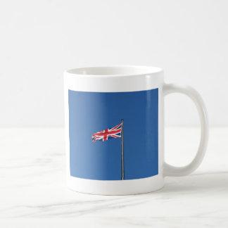 Bandera nacional de Union Jack del Reino Unido Taza De Café