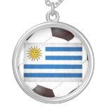 Bandera nacional de Uruguay Collar Personalizado