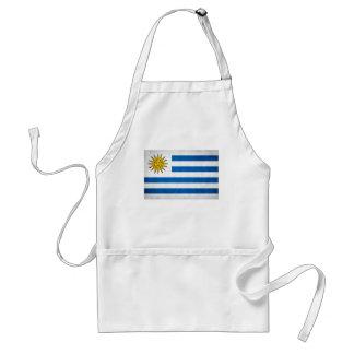 Bandera nacional de Uruguay Delantal