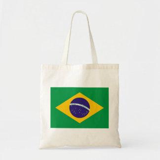 Bandera nacional del Brasil Bolsa Tela Barata