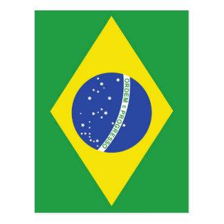 Bandera nacional del Brasil Postal