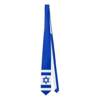 Bandera nacional del estado de Israel (auténtico) Corbata Fina