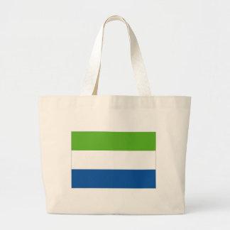 Bandera nacional del Sierra Leone Bolsa Lienzo