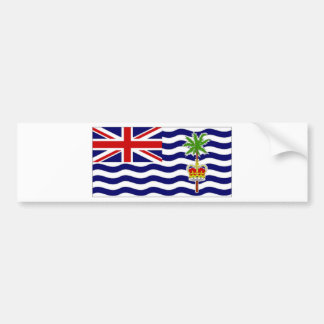 Bandera nacional del territorio del Océano Índico  Pegatina Para Auto