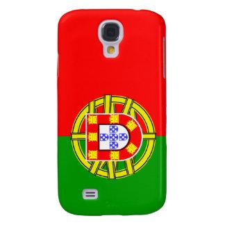 Bandera nacional portuguesa de Portugal Funda Para Galaxy S4