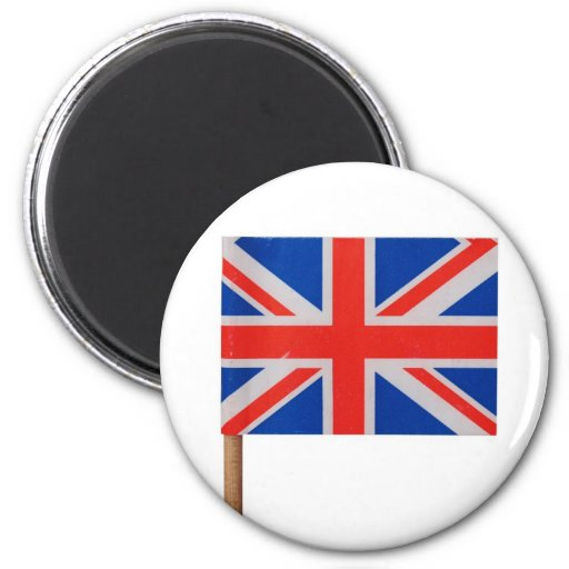 Bandera nacional Reino Unido de Union Jack Imanes De Nevera