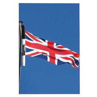 Bandera nacional Reino Unido de Union Jack Tablero Blanco