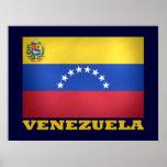 Bandera nacional venezolana impresiones