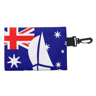 Bandera náutica Australia del desgaste de Richman
