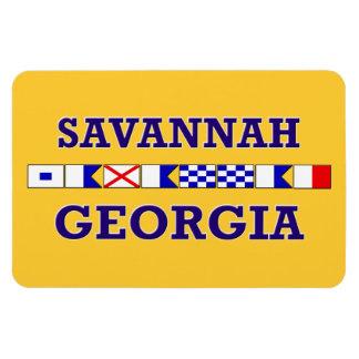 Bandera náutica de la sabana - imán
