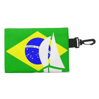 Bandera náutica el Brasil del desgaste de Richman