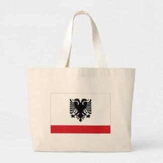 Bandera naval de Albania Bolsas Lienzo