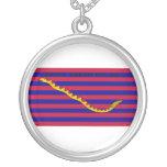 Bandera naval de Carolina del Sur durante guerra r Collar