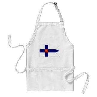 Bandera naval de Finlandia Delantales