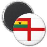 Bandera naval de Ghana Iman De Frigorífico