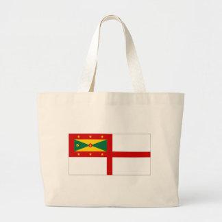 Bandera naval de Grenada Bolsas De Mano