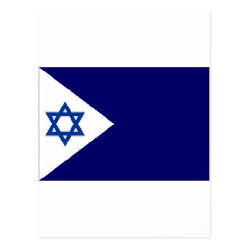 Bandera naval de Israel Postal