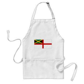 Bandera naval de Jamaica Delantal