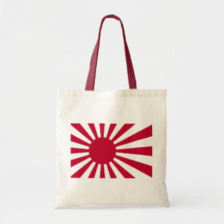 Bandera naval de Japón - bandera japonesa del sol Bolsa Tela Barata