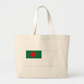 Bandera naval de la bandera de Bangladesh Bolsas De Mano