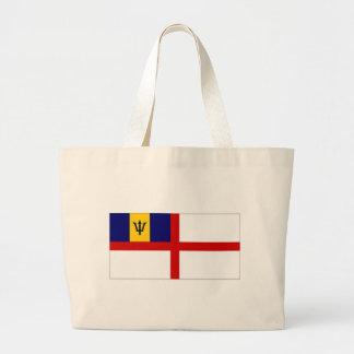 Bandera naval de la bandera de Barbados Bolsas