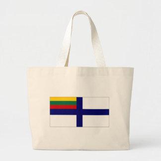 Bandera naval de la bandera de Lituania Bolsa Lienzo