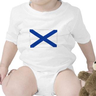 Bandera naval de la Federación Rusa Traje De Bebé