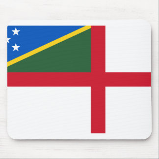 Bandera naval de los Solomon Island, Solomon Islan Alfombrilla De Ratones
